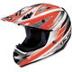 AC-X3 Option Helmet /Adult/Orange/Fluorescent Orange/Silver/White/Female/Male