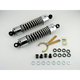 Chrome 412 Series American-Tuned Gas Shocks w/o Cover - 160/190 Spring Rate (lbs/in) - 412-4018C