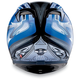 T-2 Blue Multi Helmet