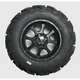 Front Right Mud Lite XTR Tire/SS108 Alloy Black Wheel Kit - 41432R