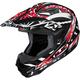 Black/Red/White Fuze CL-X6 Helmet
