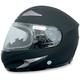 Flat Black FX-90S Snow Helmet