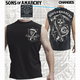 SAMCRO Shield Muscle T-Shirt