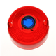 Turn Signal Red Lens with Blue Dot - DHD2RB