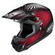 Black/Red/White Whirl CL-X6 Helmet