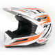Silver/Orange/Black SX-1 Switch Helmet