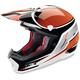 Orange Nemesis Helmet