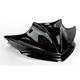 15 in. Gloss Black Peakline Windshield - 480-101-50