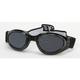 Black G-902 Goggles w/Smoke Lens - G-902BK/SM