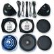 Rokker™ XT Saddlebag Subwoofer Speaker Kit - HSWR-7252-XTC