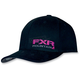 Black/Fuchsia Vertical Hat
