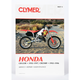 Honda CR125R/CR250R Repair Manual - M457-2