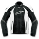 Black/White T-GP-R Air Textile Jacket
