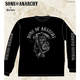 Black Fear The Reaper Long Sleeve Tee