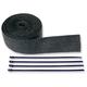 Black Exhaust Pipe Wrap - 9042B