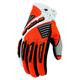 Orange Comp 8 RR Short Cuff Shell Gloves