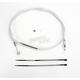 Custom Sterling Chromite II Designer Series Alternative Length High Efficiency Clutch Cables for Custom Height/Width Bars - 32104HE
