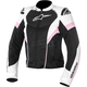 Womens Black/White/Pink Stella T-GP Plus R Air Jacket
