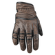 Distressed Brown Rust and Redemption Leather Gloves