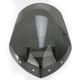 Dark Tint 14 1/2 in. Gladiator Windshield w/Chrome Mounts - N2713