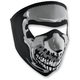 Full Face Skull Glow in the Dark Face Mask - WNFMS023G