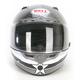 Black/Silver/White Vortex Attack Helmet - Convertible To Snow