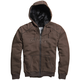 Heather Brown Outfoxed Sasquatch Zip Hoody
