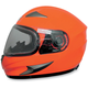 Safety Orange FX-90S Snow Helmet