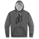 Charcoal Double Up Hoody