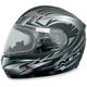 Multi Flat Black FX-90S Snow Helmet