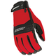 Red/Black RX14 Crew Touch Gloves