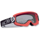Youth Red Agent Goggles w/Clear Standard Lens - 221333-0004041
