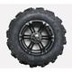 Rear Right Mud Lite XTR Tire/SS212 Alloy Black Wheel Kit - 43193R