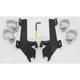 Batwing Black Trigger Lock Hardware - MEK1928