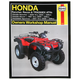 Honda ATV Repair Manual - 2553
