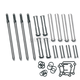 Adjustable Pushrod/Cover Kit - 93-5095