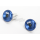 Blue Aluminum End Plugs - F71APU