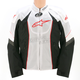 White/Black/Red T-GP-R Air Textile Jacket