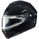 Black IS-Max 2 Snowmobile Helmet w/Electric Shield