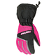 Womens Black/Pink Storm Gloves