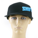 Black/Blue Strike All Pro Snapback Hat - 04017-013-OS