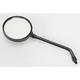 Black Universal Round Mirror - 20-29610