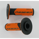 801 Hybrid Duo-Density Cross Grips - 801BLK/ORG