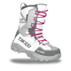 Womens White/Fuchsia X-Cross Boots