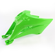 KX Green Radiator Shrouds - KA04716-026