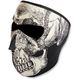 Skull Glow in the Dark Face Mask - WNFM002G