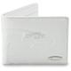 White Debossed Wallet - F41197100WHTONE