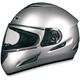 FX-100 Silver Helmet