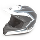 Black/White Assault Helmet