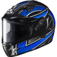 Black/Silver/Blue IS-16 Ramper Helmet